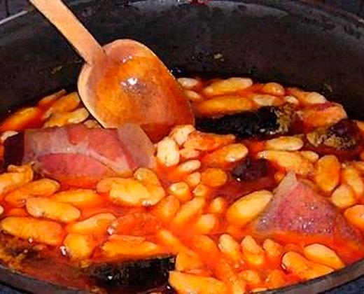 Fabada asturiana los viernes